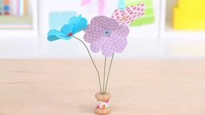 Mother's Day Paper Crafts: Paper Blooms