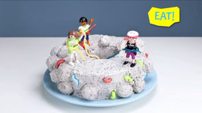 The King of the Mountain Climber Cake