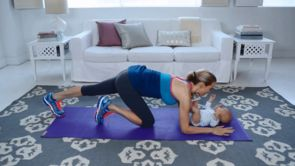 Exercise With Baby: Building Core Strength