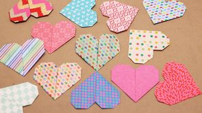 Origami Heart How-To