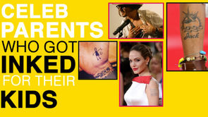 Celebrity Tattoos: 16 Famous Parents with Ink Inspired by Their Kids