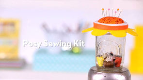 Gift Kids Can Make: Posy Sewing Kit