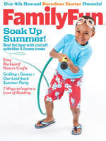 Family Fun August 2012 cover