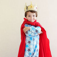 Boy in a king outfit