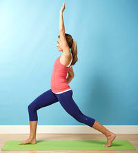 High Lunge With Side Stretch