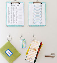 coupons & grocery list