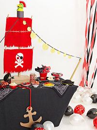 Pirate Buffet Table