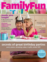 FamilyFun March 2014 cover