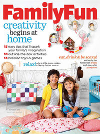 FamilyFun October 2013 cover