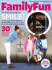 FamilyFun November 2013 cover