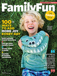 FamilyFun May 2015 Cover