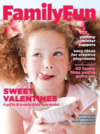 FamilyFun February 2013 cover