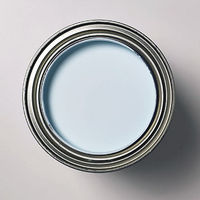 Blue can of paint