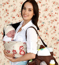 mother on the go
