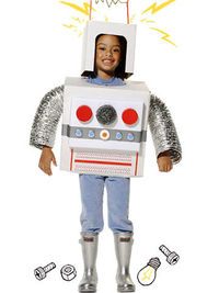 Super Simple Robot Costume
