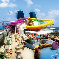 Norwegian Epic's tube slide