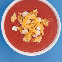 Tomato Soup with Taco