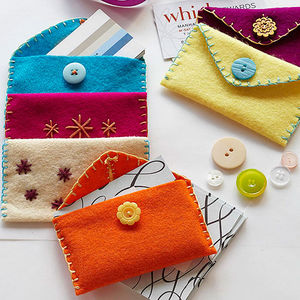 Great Gift Idea: Cozy Card Holders