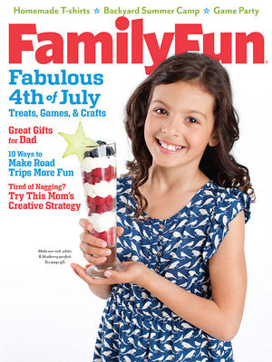 Family Fun June 2012 cover