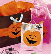 halloween crafts a cool candy carrier - Preschool Halloween Crafts Ideas
