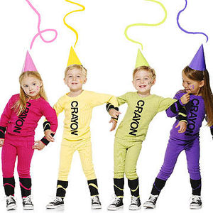 Colorful and Easy Crayon Costume