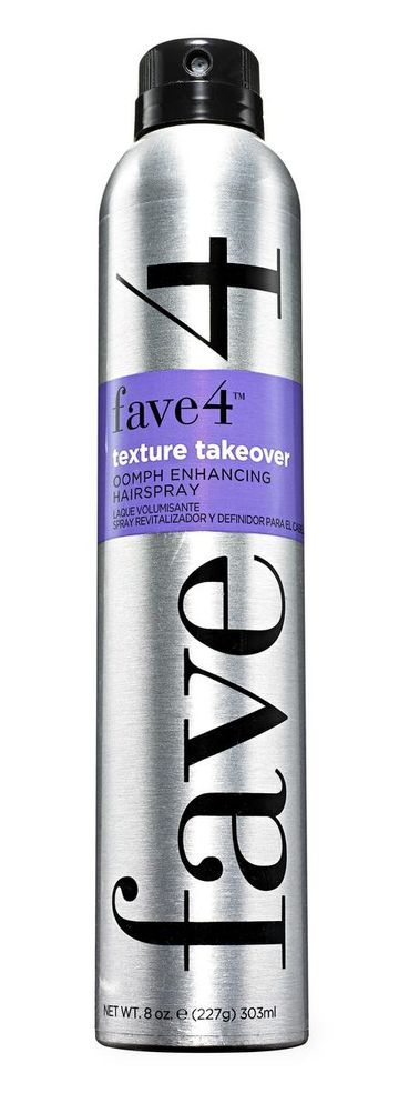 Fave4 Texture Takeover Oomph Enhancing Hairspray