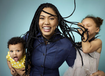 Ayesha Curry and Daughters