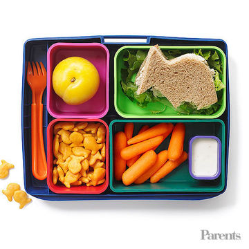 Lunch Is Served: Healthy School Lunches & Snacks