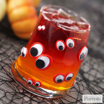 wiggly eyes glass - Fast And Easy Halloween Treats