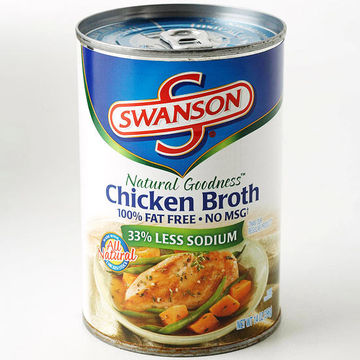 can of chicken broth