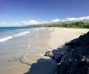 Hapuna Beach Park, Big Island, Hawaii