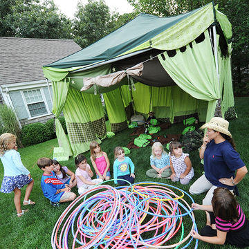 Camping Party Games