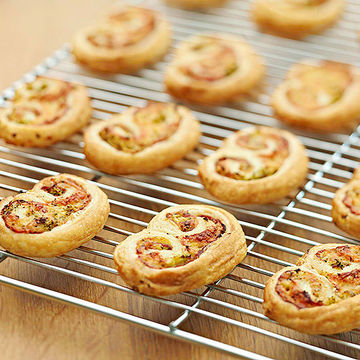 puff pastry on cooling rack