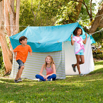 Backyard summer camp 4 outdoor games and activities for Outdoor crafts for camping