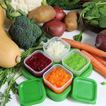 How To Make Veggie Purees For Babies