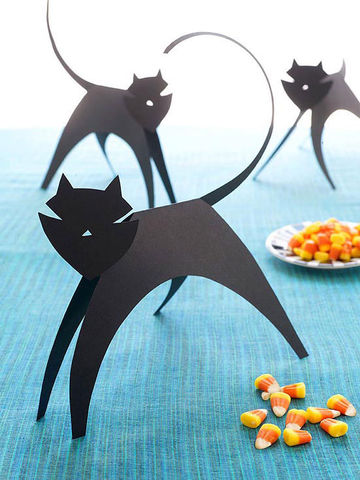 Cool paper crafts for kids for Cat art and craft