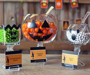 Monster candy dishes