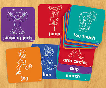 Let's Get Moving! Activity Mats