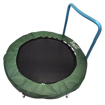 Trampoline Bouncer With Easy Hold Handle Bar