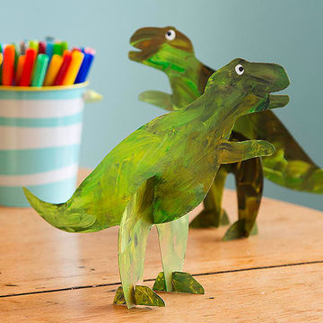 Stand-up Dinosaurs