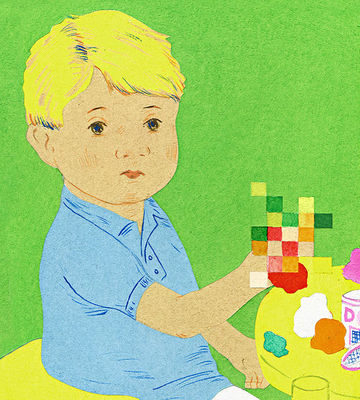 Boy with Sensory Processing Disorder