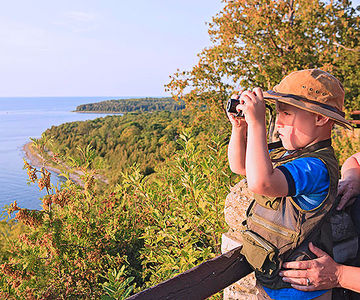 Door county hike