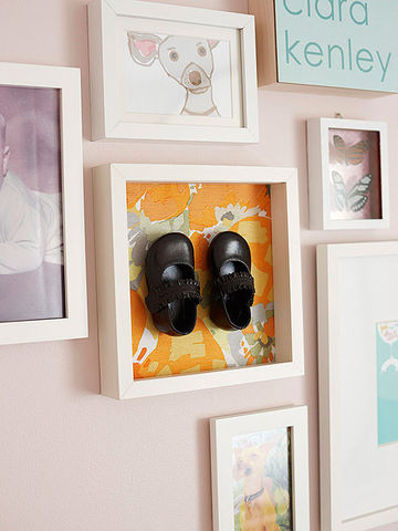 baby shoes art