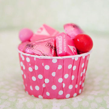Cup with candies