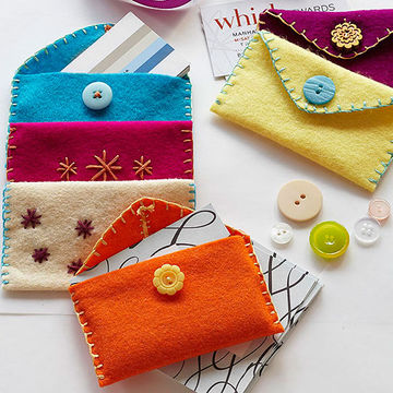 Cozy Card Holders