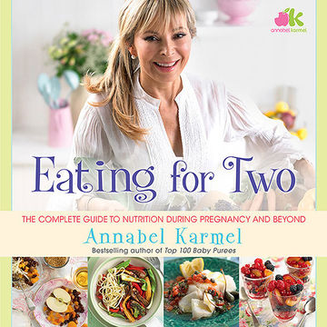 EATING FOR TWO book cover