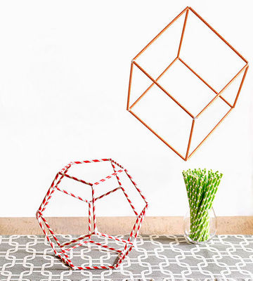 Straw shapes