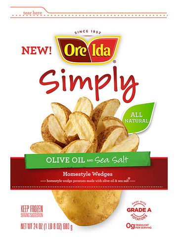 Ore-Ida Simply Olive Oil and Sea Salt Homestyle Wedges