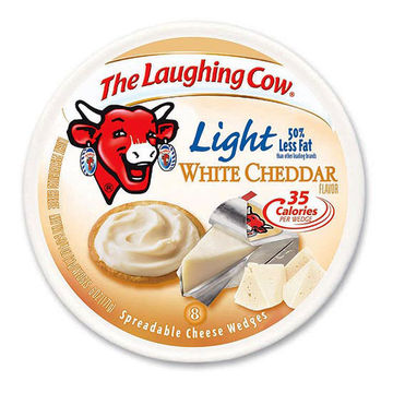 The Laughing Cow: Light White Cheddar flavor