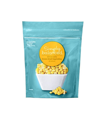 Simply Balanced Sweet Corn Freeze Dried Vegetables